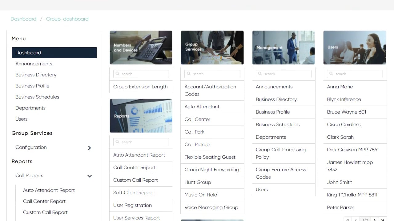 Hosted UC Customer Portal – Admin Videos, CBTS Hosted UC Support Portal